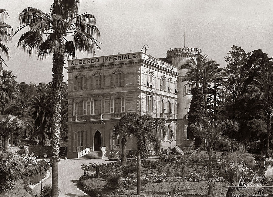 The Historic hotels of Sanremo: Hotel Imperiale, 1900